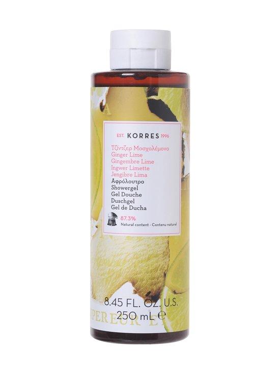Korres - Ginger Lime Showergel -suihkugeeli 250 ml - NOCOL   Stockmann - photo 1