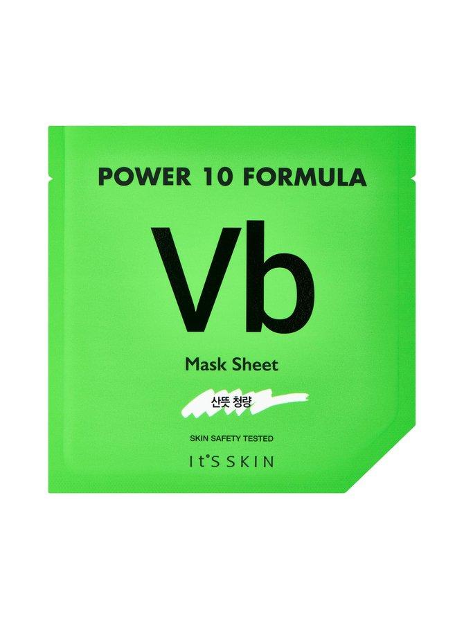 Power 10 Formula Mask Sheet VB -kangasnaamio 25 ml