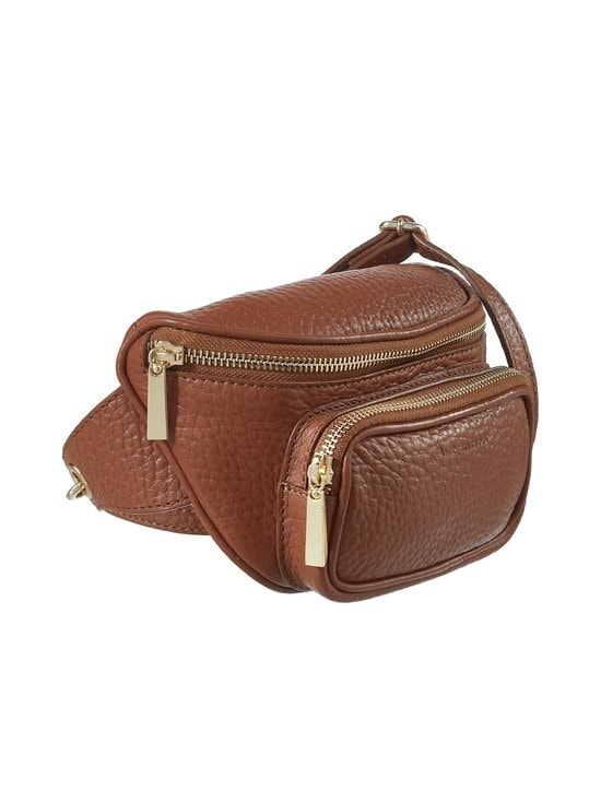 A+more - Aniela Waistbag -nahkalaukku - TAN BROWN | Stockmann - photo 2