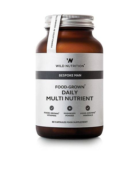 Food-Grown Daily Multi-Nutrient Mens -ravintolisä 60 kaps.