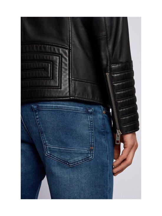 BOSS - Jakoby Leather -nahkatakki - 001 BLACK   Stockmann - photo 5