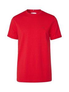 Les Deux - Nørregaard T-Shirt -paita - 605730-RED/ORANGE | Stockmann