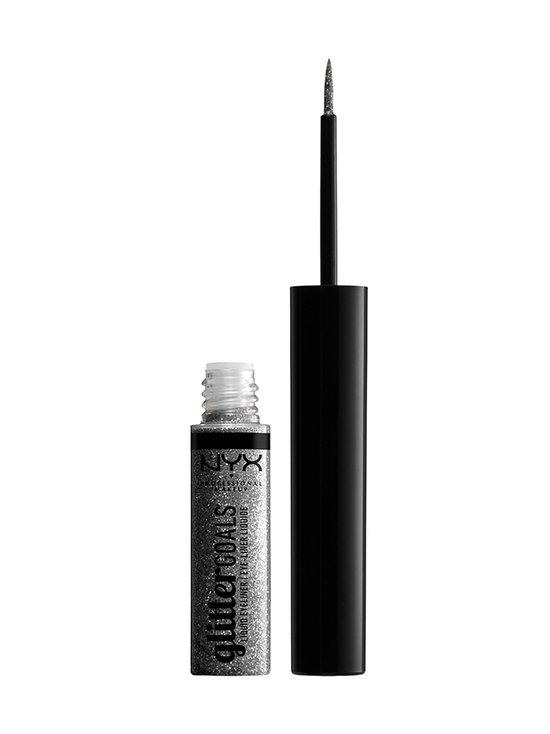 NYX Professional Makeup - Glitter Goals Liquid Eyeliner -nestemäinen silmänrajauskynä 4 ml - 02 DIAMOND DUST | Stockmann - photo 1