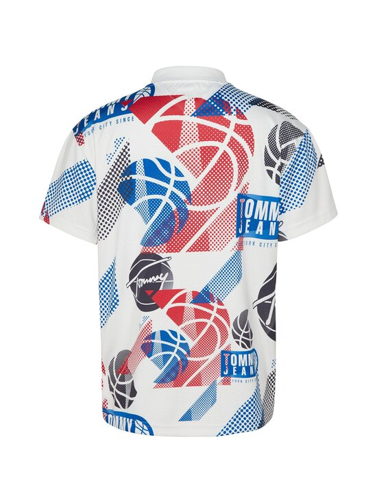 Tommy Jeans - TJM Basketball Graphic Tee -paita - YBR WHITE / MULTI | Stockmann - photo 2