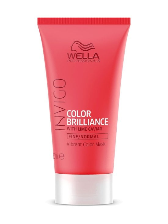 Wella Invigo - Invigo Color Brilliance Mask -tehohoito hennoille hiuksille 30 ml - NOCOL | Stockmann - photo 1