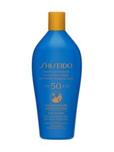 Shiseido - Expert Sun Protector Face & Body Lotion SPF 50+ -aurinkosuojavoide 300 ml | Stockmann