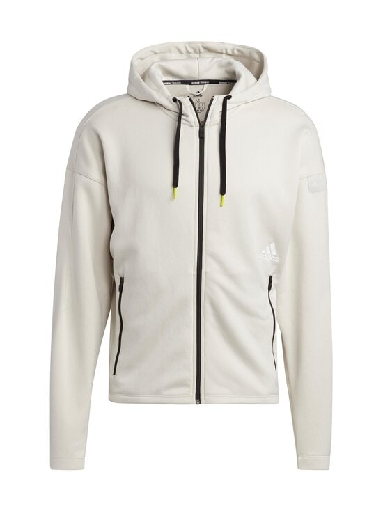adidas Performance - Studio Tech Full-Zip Hoodie -hupparitakki - ALUMIN ALUMINA | Stockmann - photo 1