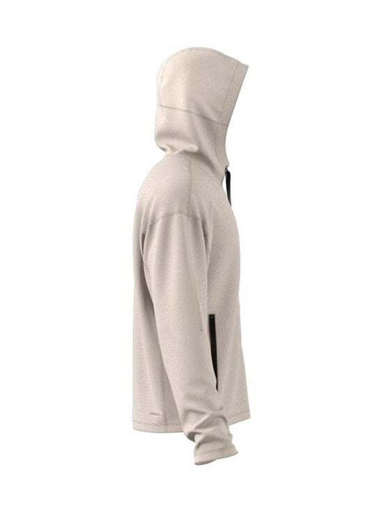 adidas Performance - Studio Tech Full-Zip Hoodie -hupparitakki - ALUMIN ALUMINA | Stockmann - photo 3