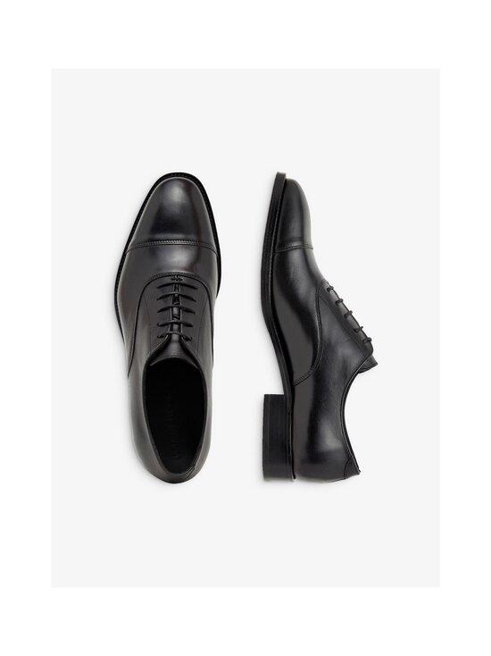 J.Lindeberg - Hopper Leather Oxford -nahkakengät - 9999 BLACK   Stockmann - photo 3