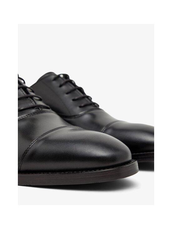 J.Lindeberg - Hopper Leather Oxford -nahkakengät - 9999 BLACK   Stockmann - photo 4