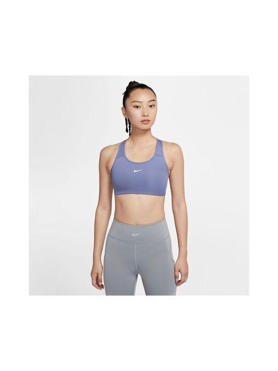 Nike - Swoosh Medium Support -urheiluliivit - 482 WORLD INDIGO/WHITE | Stockmann - photo 3