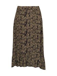 Moss Copenhagen - Calie Morocco Skirt AOP -hame - SAGE ZEBRA | Stockmann