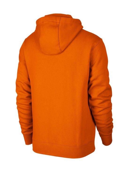 Nike - M Sportswear Club Fleece -huppari - 812 MAGMA ORANGE/MAGMA ORANGE/WHITE | Stockmann - photo 2