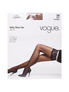 Vogue - Silky-stay-up-sukat 20 den - SUNTAN   Stockmann