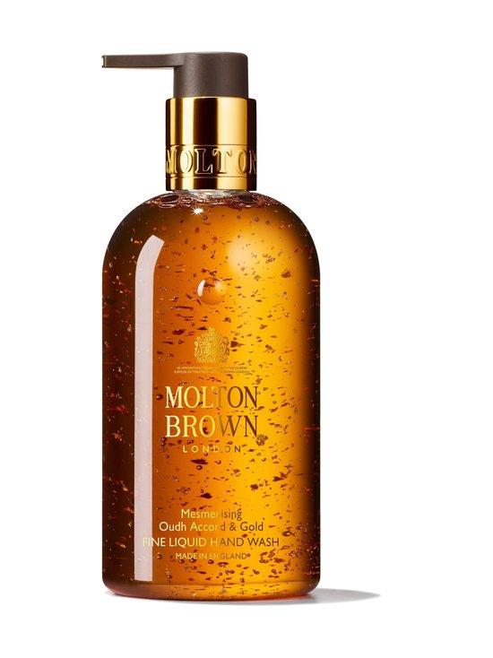 Molton Brown - Mesmerising Oudh Accord & Gold Fine Liquid Hand Wash -nestesaippua 300 ml - NOCOL   Stockmann - photo 1