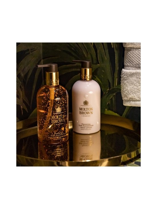 Molton Brown - Mesmerising Oudh Accord & Gold Fine Liquid Hand Wash -nestesaippua 300 ml - NOCOL   Stockmann - photo 6