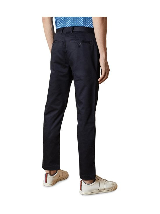 Ted Baker London - Smile Slim Fit Satin Finish Chinos -chinot - 10 NAVY   Stockmann - photo 3