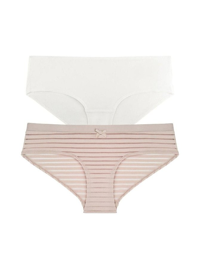 Louise Hipster -alushousut 2-pack