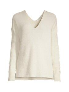 Calvin Klein Womenswear - ALPACA RIB V-NECK -neule - YBL ECRU | Stockmann