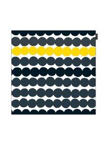 Marimekko - Räsymatto-tyynynpäällinen 50 x 50 cm - MUSTA/KELTAINEN | Stockmann