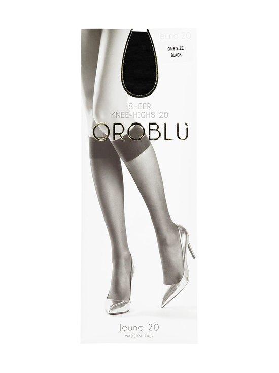 Oroblu - Jeune Sheer Knee-Highs 20 den -polvisukat - BLACK | Stockmann - photo 1