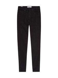 Calvin Klein Jeans - High Rise Super Skinny Ankle -farkut - 1BY DENIM BLACK | Stockmann
