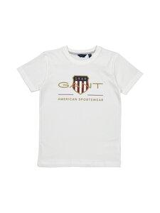 GANT - Archive Shield -t-paita - 110 WHITE | Stockmann