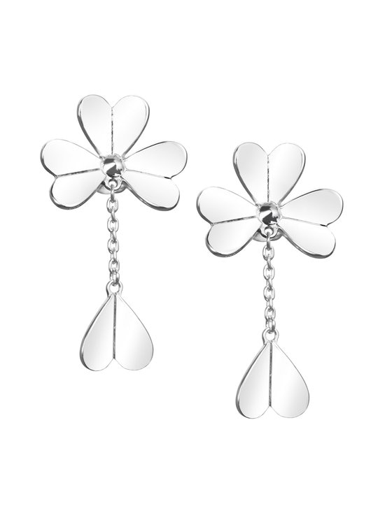 Efva Attling - Four Clover Mini -korvakorut - SILVER | Stockmann - photo 1