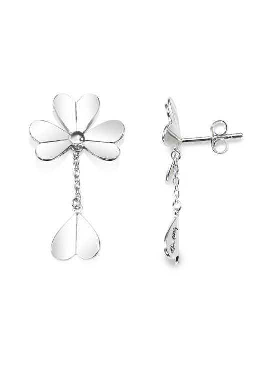 Efva Attling - Four Clover Mini -korvakorut - SILVER | Stockmann - photo 2