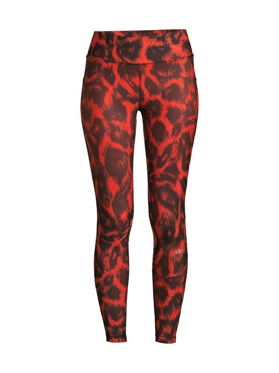 Casall - Awake Printed Tights -treenitrikoot - 997 PASSION ORANGE | Stockmann - photo 1