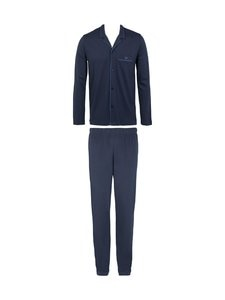 Emporio Armani - Knit Pyjama Button Set -pyjama - 00135 MARINE | Stockmann