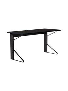 Artek - REB005 Kaari -työpöytä, HPL - BLACK GLOSSY HPL/BLACK OAK (MUSTA) | Stockmann