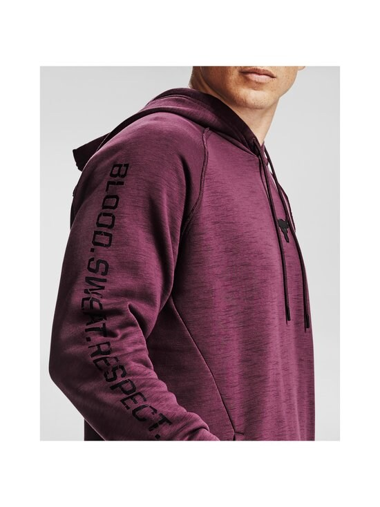 Under Armour - Project Rock -huppari - 569 LEVEL PURPLE / / BLACK | Stockmann - photo 7