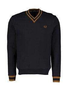 Fred Perry - Tipped Loopback Sweatshirt -collegepaita - 608 NAVY | Stockmann