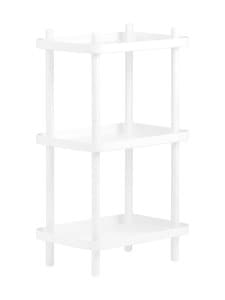 Normann Copenhagen - Block Shelf -hylly 87 x 50 x 35 cm - WHITE | Stockmann