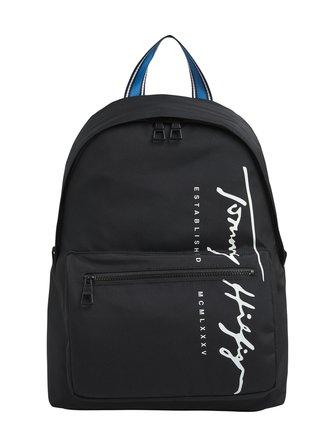 Signature Logo Laptop Sleeve Backpack -reppu - Tommy Hilfiger