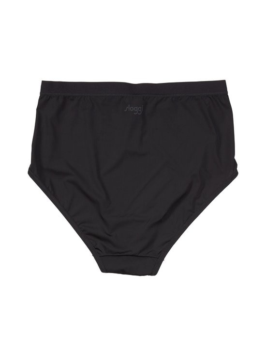 Sloggi - WOW Comfort 2.0 High Waist Brief -alushousut - BLACK 0004 | Stockmann - photo 2