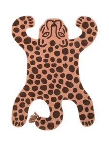 Ferm Living - Safari Tufted Leopard -villamatto - ROSE | Stockmann