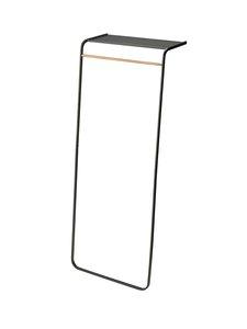 Yamazaki - Tower Shelf -vaateteline 160 x 60 x 46 cm - BLACK | Stockmann