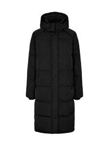 Moss Copenhagen - Skylar Down Hood Jacket -untuvatakki - BLACK   Stockmann
