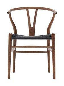 Carl Hansen&Son - CH 24 Wishbone -tuoli - TUMMANRUSKEA/MUSTA | Stockmann