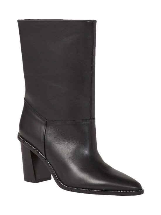 Kenzo - K-Mount Boot High Heeled Mid -nahkasaappaat - 99 BLACK | Stockmann - photo 2