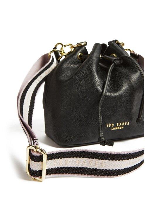 Ted Baker London - AMINAH Branded Webbing Strap Bucket Bag -nahkalaukku - JET-BLACK | Stockmann - photo 3