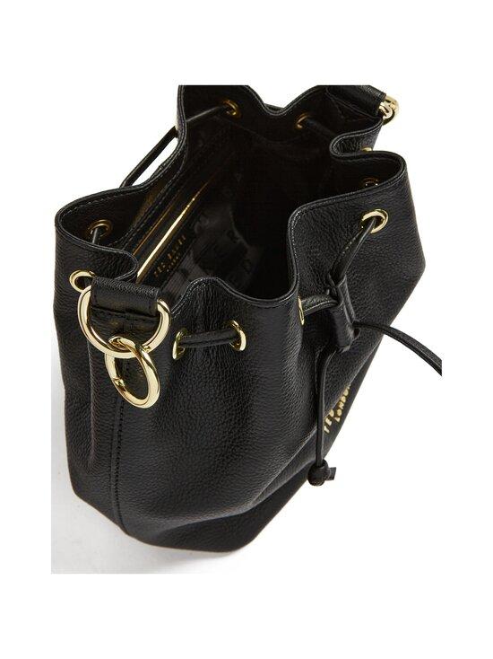 Ted Baker London - AMINAH Branded Webbing Strap Bucket Bag -nahkalaukku - JET-BLACK | Stockmann - photo 4