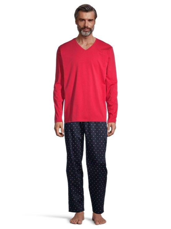 Schiesser - Mix + Relax -pyjamapaita - 500 RED | Stockmann - photo 2