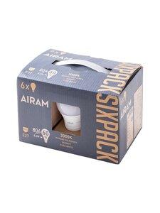 Airam - Sixpack 8,6 W E27 -vakiolamppu - WHITE | Stockmann