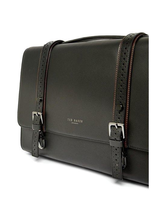 Ted Baker London - Hoock Brogue Leather Satchel -nahkalaukku - 00 BLACK | Stockmann - photo 3