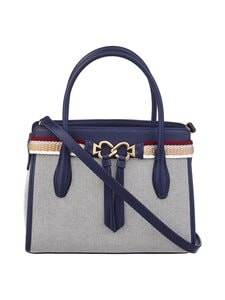 kate spade new york - Toujours Canvas Large Satchel -laukku - 429U BLAZER BLUE | Stockmann