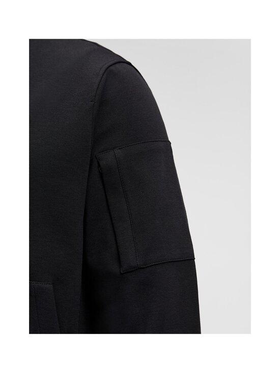 J.Lindeberg - Jersey Seth Bomber Sweat Jacket -collegetakki - 9999 BLACK | Stockmann - photo 5