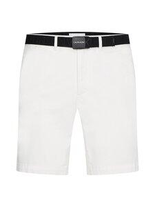 Calvin Klein Menswear - GARMENT DYE BELTED -shortsit - YAF BRIGHT WHITE   Stockmann